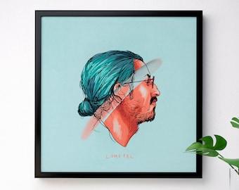 Poster - Lomepal | 30x30 cm