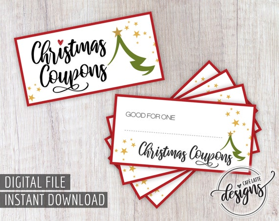 It is an image of Declarative Printable Christmas Coupons