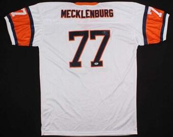 235a52b0 Karl Mecklenburg Signed Autographed Denver Broncos Football Jersey -  Psa/dna Coa