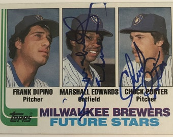 1982 Baseball Card Etsy