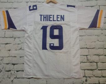 15d40248df Adam Thielen Signed Autographed Minnesota Vikings Football Jersey - JSA COA