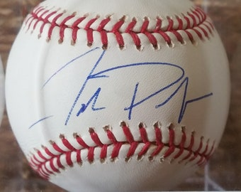 Baseball Joe Magrane Signed Autographed Official National League COA Matching Holograms ONL