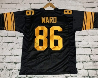 e443ad178 Hines Ward Signed Autographed Pittsburgh Steelers Football Jersey - JSA COA