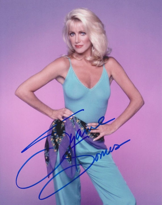 """SUZANNE SOMERS 8/"""" X 10/"""" GLOSSY PHOTO REPRINT"""