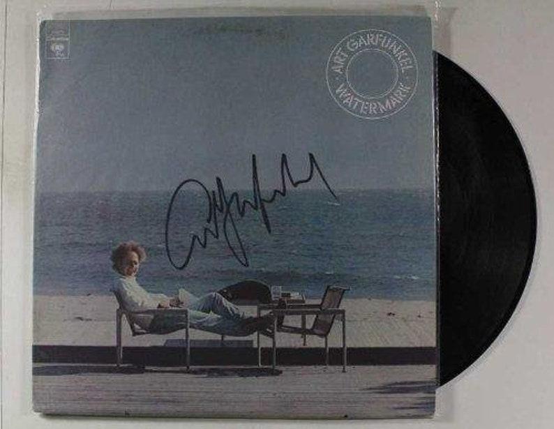 Art Garfunkel Autographed Watermark Record Album