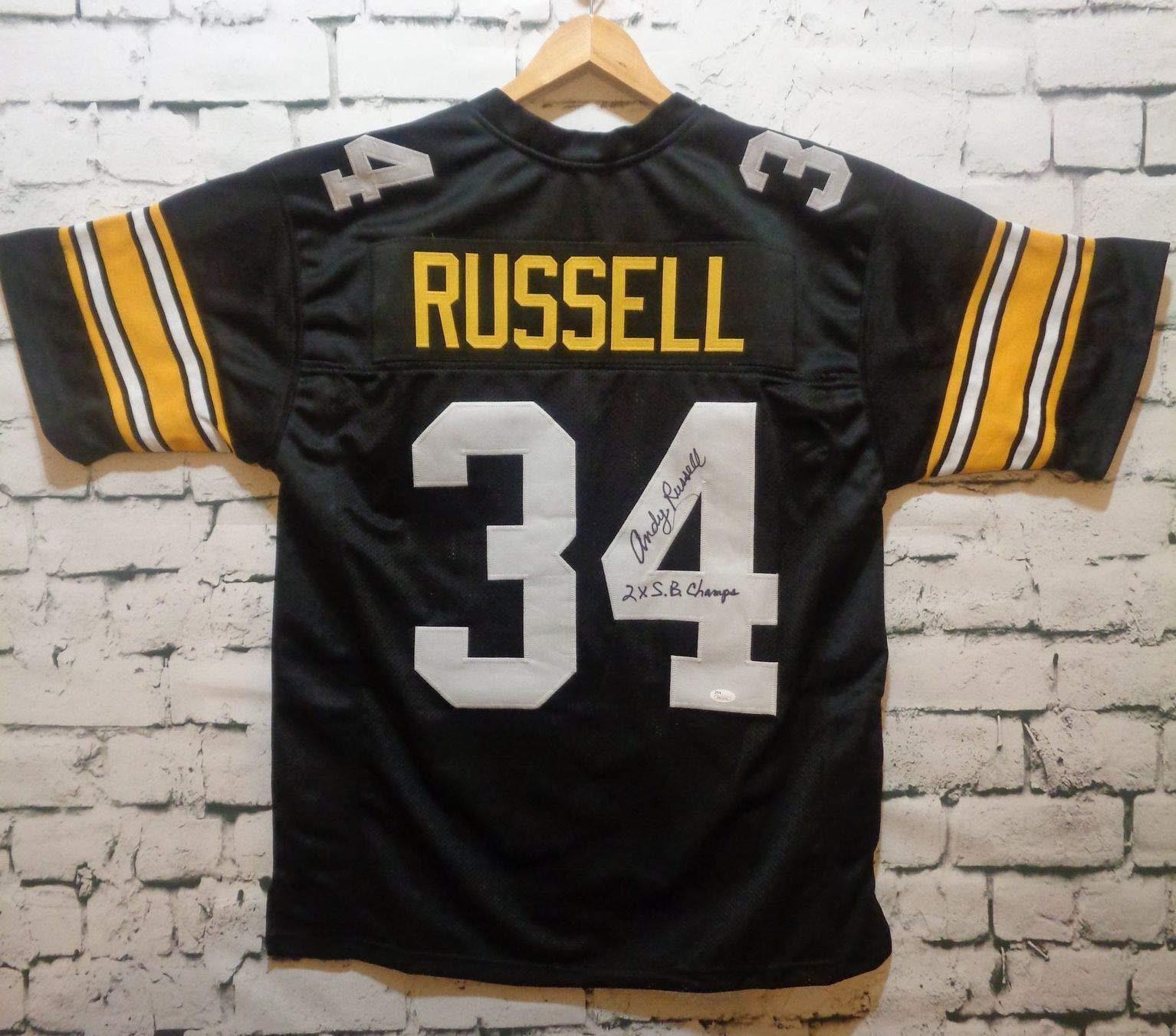 Autographed//Signed James Conner Pittsburgh Black Football Jersey JSA COA