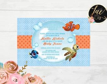 Nemo Baby Shower Etsy