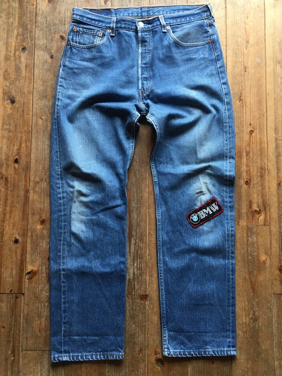 Vintage 80s Levis 501xx w36 L34 Made in USA no sel