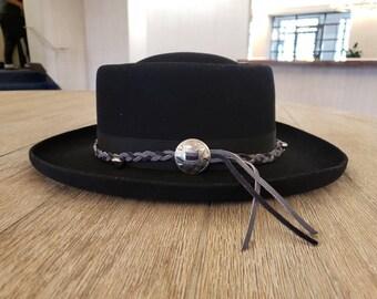 dbe320ac3a3 Stetson Vintage Pony Express 6 7 8 Wool Cowboy Hat