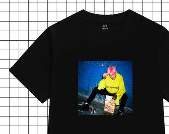 a5019d3c90c LIL PEEP T-SHIRT - Aesthetic Clothing, Aesthetic Shirt, Tumblr Clothing,  Tumblr Shirt, Vaporwave, Grunge, 90s tshirt, Softgrunge, Black