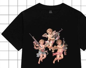 0be26010a60 VINTED ANGELS T-SHIRT-esthétique vêtements