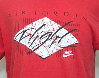 fbcac00c Vintage 90s Nike Air Jordan Flight shirt