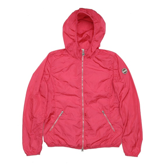 COLMAR Originals Red Nylon Hoodie Light Windbreake