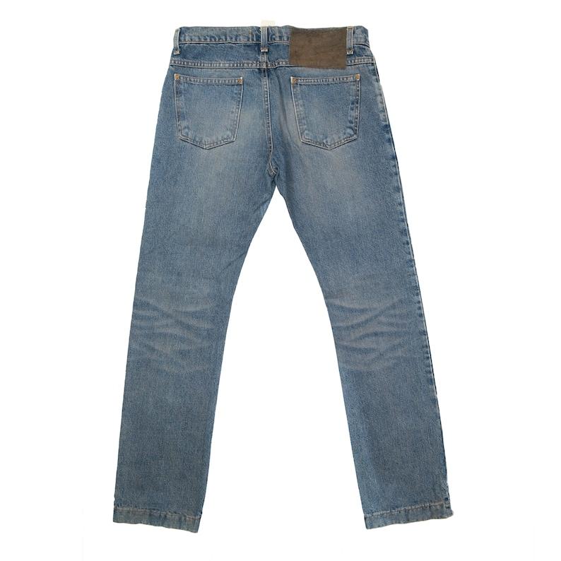Vintage 90s  DOLCE /& GABBANA  Slim Straight Cut Jeans  Made In Italy  Waist 33  Dolce And Gabbana Denim