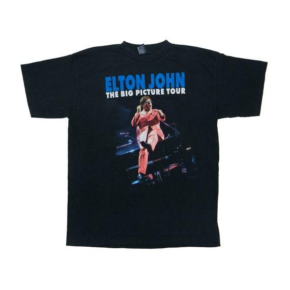 Vintage 90s // ELTON JOHN // The Big Picture Conce