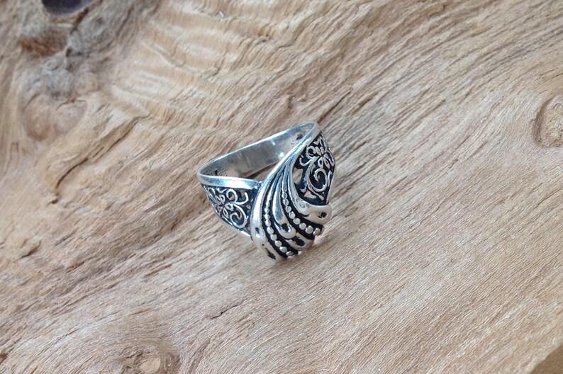 Vintage ring,Vintage silver ring 925 stamp, Ukrainian silver ring, Ukraine  silver ring 1990s