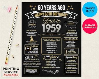 birthday signs etsy