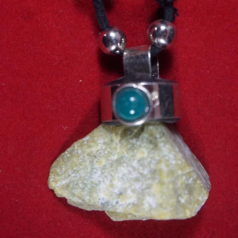 Energetic Stones Peruvian machu picchu stone necklace