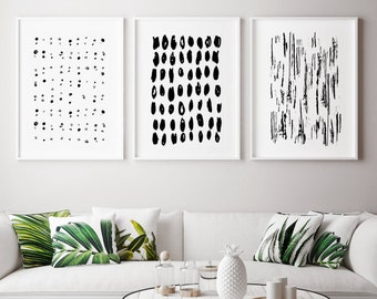 Black And White Wall Art Etsy