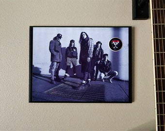 dcaf4094141 PEARL JAM wall plaque feat. custom guitar pick
