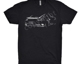 Porsche 911 Shirt, Unisex, Car Enthusiasts, Hand Drawn, Car apparel, Car T-Shirt, Classic Car shirt, Porsche Shirt, Porsche