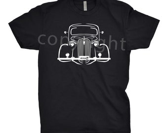 Classic Car Shirt of 1937 Plymouth, Car Enthusiast, 1937 Plymouth Shirt, Classic Car Shirt, 1936 1937 1938 Plymouth, Plymouth Shirt, Car Art