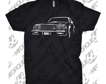 1987 Buick Shirt Regal Shirt, Car Enthusiast, 1987 Buick Grand National, 1985 1986 1987 1988 Buick, 1987 Buick GNX, Gift, Car Art