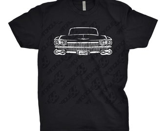 1959 Cadillac Shirt, Car Enthusiast, Gift, Cadillac Shirt, 1959 Cadillac Deville, Car Art, 1959 1960 1961 Cadillac Shirt