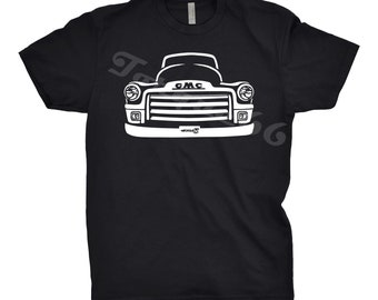 1954 GMC Truck Shirt, Car Enthusiast, 1954 GMC Shirt, 1949 1950 1951 1952 1954 GMC Shirt, Gift, Art, Hand Drawn, 1954 gmc Shirt