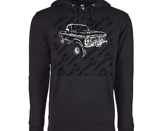 1977 Ford Truck Hoodie, Car Enthusiast, 1977 Ford F150 Hoodie, 1977 Ford Hoodie, Ford F100 Hoodie, Car Gift