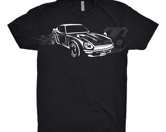 1972 Datsun 240Z Shirt, Car Enthusiasts, Unisex, 1970 1971 1972 1973 1974 Datsun 240Z Shirt, Classic Datsun Shirt, Datsun 280Z Shirt,