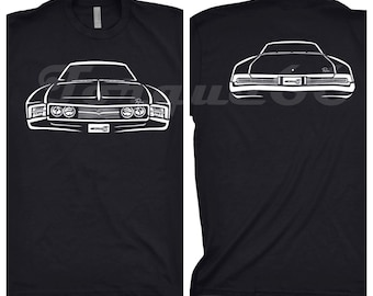 Classic Car Shirt of 1967 Buick Riviera, Car Enthusiast, Buick Riviera Shirt, 1967 Buick Riviera Shirt, Classic Car Shirt, 1967 Buick Shirt