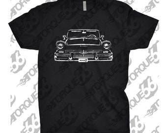 Classic Car Shirt of 1957 Ford Fairlane, Car Enthusiasts, Ford Fairlane Shirt, 1955 1956 1957 1958 Ford Fairlane Shirt, Car Girt For Dad