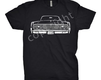 Classic Shirt of 1966 Lincoln Continental, Car Enthusiasts, Gift, Classic Car Shirt, 1966 Lincoln Shirt, Lincoln Continental Shirt
