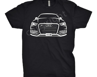 2015 Audi Shirt, Car Enthusiast, Classic Car Shirt, Audi Shirt, Audi S3 Shirt, Car Art, 2014 2015 2016 Audi Shirt, Car Apparel