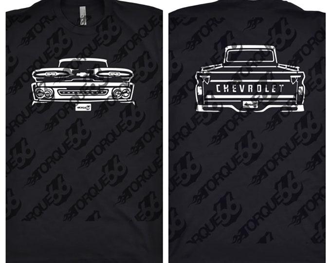 1961 Chevy Apache Shirt, Car Enthusiast, Gift, Car Art, Chevy Apache Shirt, 1961 Chevy Apache
