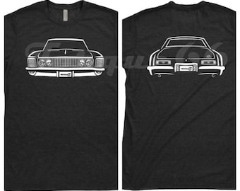 1964 Buick Riviera Shirt, Car Enthusiast, Buick Riviera Shirt, 1963 1964 1965 Buick Riviera Shirt, Hand Drawn, Car Art, Unisex,