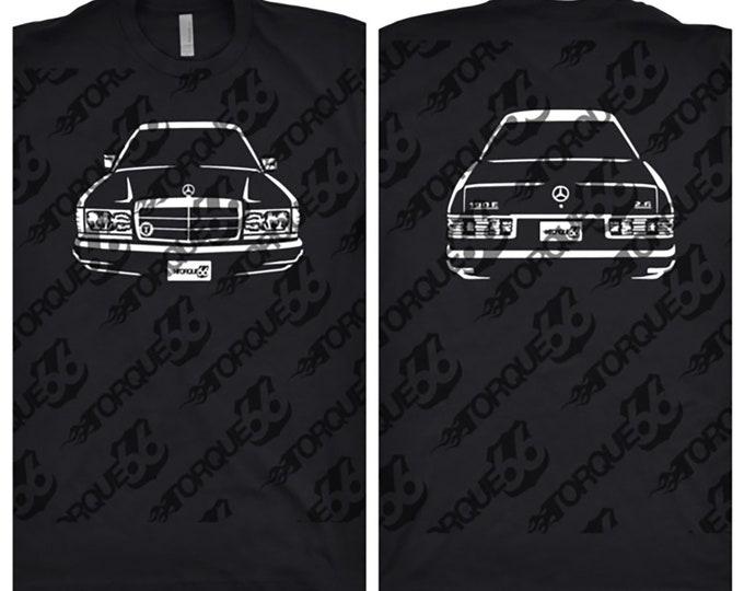 1991 Mercedes Shirt, Car Enthusiast, Car Art, Gift, 1991 Mercedes Benz, 1991 Mercedes 190E