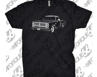 1986 Dodge Ram Shirt, Car Enthusiast, 1986 Dodge Ram, 1985 1986 1987 1988 Dodge Ram, Gift, Hand Drawn