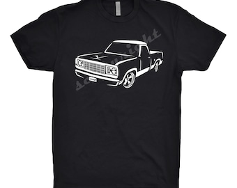 1978 Dodge D100 Shirt, Car Enthusiast, Dodge D100 Shirt, 1975 1976 1977 1978 Dodge d100 Shirt, Classic Car Shirt, Car Art