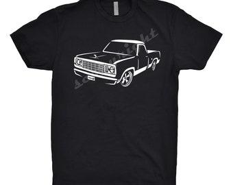 1978 Dodge D100 Shirt, Car Enthusiast, Dodge D100 Shirt, 1975 1976 1977 1978 Dodge d100 Shirt, Classic Car Shirt, Car Art