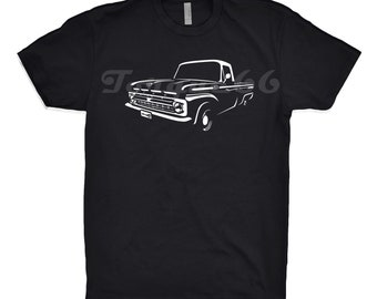1964 Ford F100 Shirt, Classic Car Shirt, Ford F100 Shirt, 1959 1960 1961 1963 1965 Ford F100 Shirt, Car Enthusiast, F100 Shirt, Unisex, Art