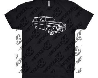1964 GMC Suburban, Car Enthusiast, Car Art, GMC Suburban Shirt, Classic Car Shirt, Gift, 1964 GMC Suburban Shirt, Suburban Shirt