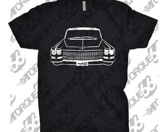 Classic Shirt of 1963 Cadillac, Car Enthusiast, Cadillac Shirt, 1963 1964 1965 1966 Cadillac Shirt, 1963 Cadillac Deville Shirt, Hand Drawn