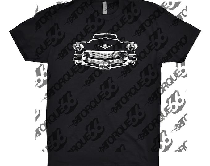 1957 Cadillac Deville Shirt, Car Enthusiast, Car Art, Gift, Cadillac Shirt, Cadillac Deville Shirt, Classic Car Shirt, Hand Drawn