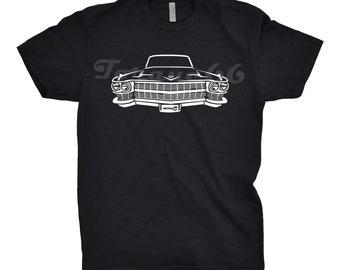 Classic Car Shirt of 1964 Cadillac Deville, Car Enthusiast, Cadillac Deville Shirt, 1963 1964 1965 1966 Cadillac Deville Shirt, Car Gift