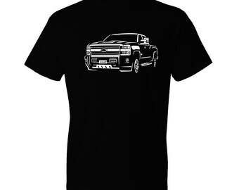 2019 Chevy Silverado Shirt, Car Enthusiasts, Classic Car Shirt, Gear Head, Gift, Silverado HD, Chevy Shirt, Car gift, Gift for Him, Gift