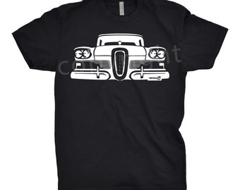 Classic Car Shirt of a Ford Edsel, Car Enthusiast, Edsel Shirt, Ford Edsel Shirt, Classic Car Shirt, Car Art,
