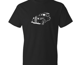 Classic Car Shirt of Plymouth, Unisex, Car Enthusiasts, Car Apparel, Car T-Shirt, Hand Drawn, Car Art, Plymouth Shirt, Gift, Car Guy, Cars