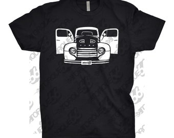1948 Ford F100 Shirt, Car Enthusiast, Classic Car Shirt, 1948 1949 1950 Ford F100 Shirt, F100 Shirt, Gift, Hand Drawn